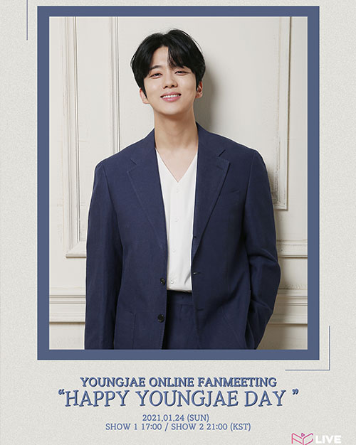 YOUNGJAE ONLIVE FANMEETING